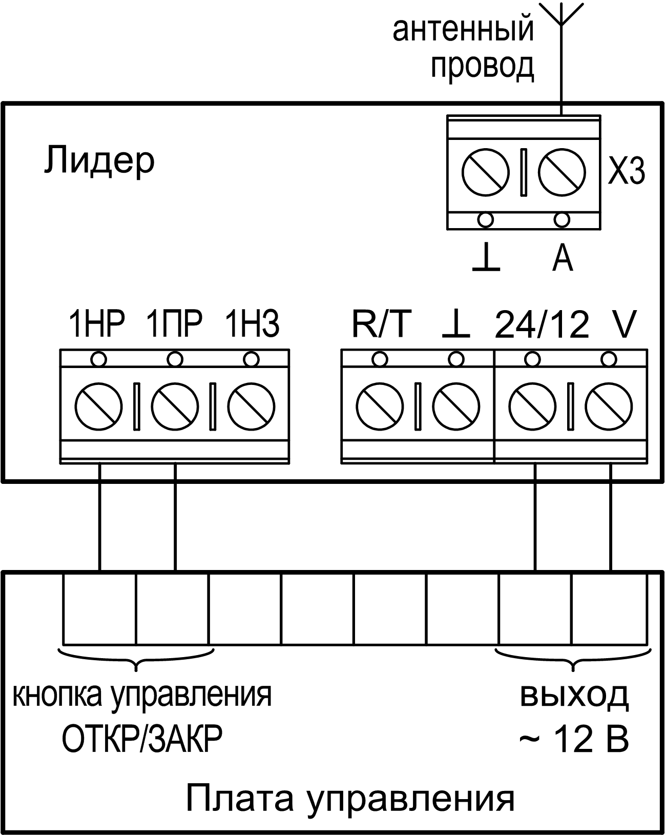 датчик коммутатор сонар ик схема подключения